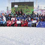 В Красноярске завершились соревнования по лыжным гонкам среди энергетиков
