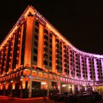 Гостиница «Radisson Славянская» в Москве заиграла новыми красками благодаря энергоэффективному освещению