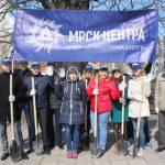 Работники Костромаэнерго высадили новые деревья на «Аллеях энергетиков» в  районах области