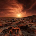 Астронавты обнаружили гигантскую дыру на Марсе