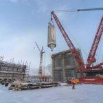 Омский НПЗ смонтировал ключевое оборудование новой установки замедленного коксования