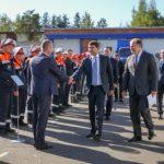 В Кингисеппе состоялась торжественная церемония открытия масштабных учений энергетиков «Ленэнерго»