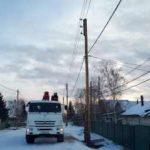 «Якутскэнерго» оперативно отремонтировало поврежденную автомобилем опору ЛЭП «Совхоз»