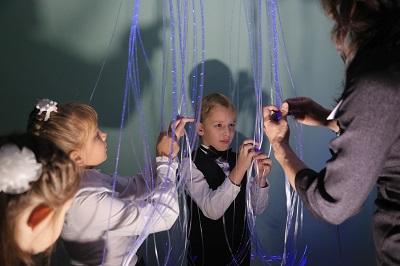 СГК помогла обустроить развивающие сенсорные комнаты для детей в новокузнецкой спецшколе