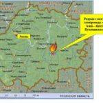 В Рязанской области выясняют причину аварии магистрального газопровода «Средняя Азия – Центр III»