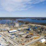 Терминал сжиженного природного газа в порту Высоцк отгрузит первую партию СПГ в феврале 2019 года
