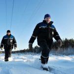 «Ленэнерго» перешло в особый режим работы из-за снежной бури в Ленинградской области