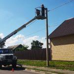 «Россети Центр Липецкэнерго» продолжает работу по модернизации систем уличного освещения в регионе