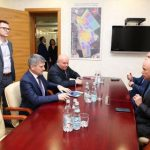 Губернатор Липецкой области Игорь Артамонов и глава «Россети Центр» Игорь Маковский провели рабочую встречу