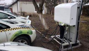 АЗС заправка электрособилей