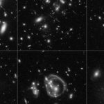 Ученые нашли отдаленную галактику с несформированными звездами