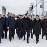 Губернатор Ленобласти Александр Дрозденко посетил модернизированную подстанцию 110 кВ «Луга»