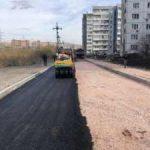 СГК восстанавливает в Красноярске дорожное покрытие после ремонта теплосетей