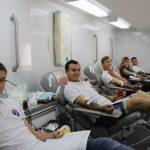 Работники Брянскэнерго и члены студенческих отрядов приняли участие в акции сдачи крови