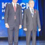 Губернатор Курской области вручил сотруднику Курскэнерго государственную награду