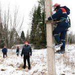 Андрей Майоров проконтролировал ход аварийно-восстановительных работ в Бологовском районе Тверской области