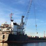 Урановые «хвосты» из Германии погружены на судно «Михаил Дудин» в Амстердаме