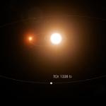 В NASA показали планету с двумя солнцами
