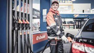 АЗС Газпром нефть работник
