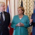 """Макрон поддержал позицию Меркель по """"Северному потоку-2"""""""