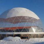 В Якутии жилой дом поместят под энергосберегающий купол