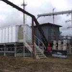 «Россети Урал»-«Пермэнерго» установили блочную КТП для подключения нового торгового центра в Перми