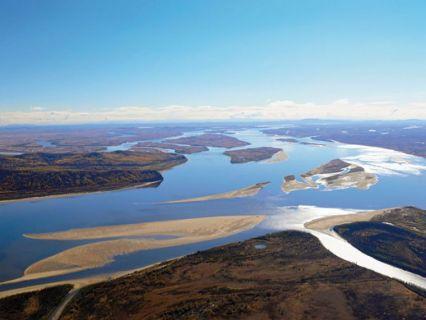 река Колыма (устье)