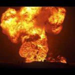 МЧС Азербайджана расследует взрыв и пожар в Каспийском море