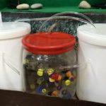 Черкасские школьники создали модель водоочистной станции из пластиковых крышек