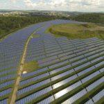 ГК «Хевел» впервые проверила ряды солнечных модулей на Майминской СЭС с помощью дронов