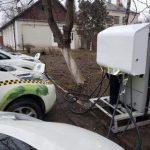 В Каменце-Подольском заработала служба такси на электромобилях