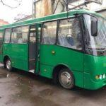 В Луцке выпустили первый 8-метровый электроавтобус