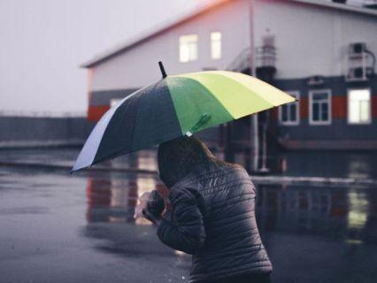 Гроза и молния дождь непогода