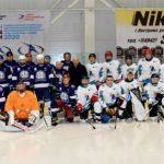Хоккейная команда Костромаэнерго провела товарищеский матч  «Россети Центр»