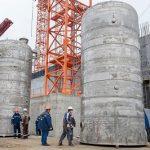 На Курской АЭС-2 установили пять 10-тонных емкостей для накопления жидких отходов