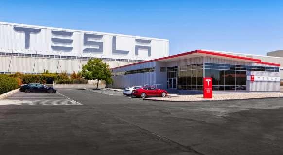 завод Тесла