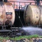 Волга может пострадать от утечек нефтехимии с железнодорожной станции в Кстово
