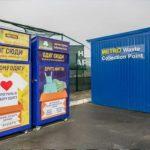 В Киеве торговый центр установил контейнеры для сбора одежды