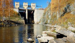 гидротехнические сооржения Белоярская АЭС