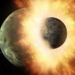 Ученые предположили, что в недрах Луны прячется планета Тейя