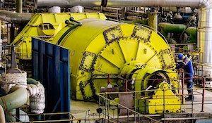Апатитская ТЭЦ турбина