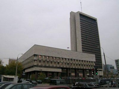 Здание Минэнерго России