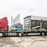 На стройплощадку очистных сооружений «СИБУР-Кстово» доставлено крупногабаритное оборудование