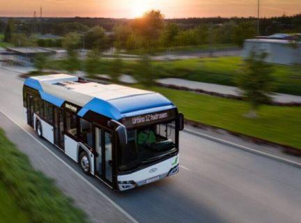 водородный автобус