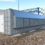 На площадке ЦОДа «Калининский» Росэнергоатома установили первые контейнерные ЦОД