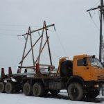 На Сахалин прибыла дополнительная спецтехника для строительства ЛЭП «Шахтерская – Бошняково»
