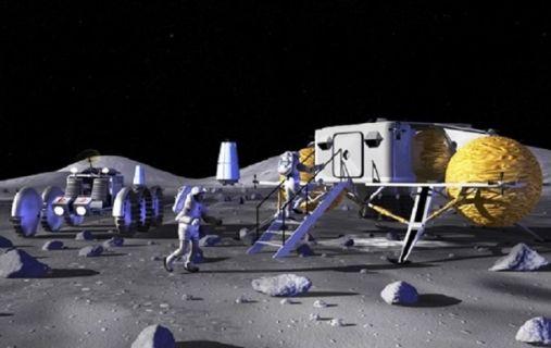 астронавт Луна