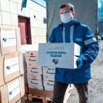 «Газпром нефть» передала Омской области 1 млн единиц средств медицинской защиты