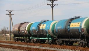 цистерна с нефтью РЖД