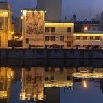 «Ленсвет» оформил светом Блокадную подстанцию на набережной Фонтанки
